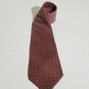 Mallory & Church london red tie h16